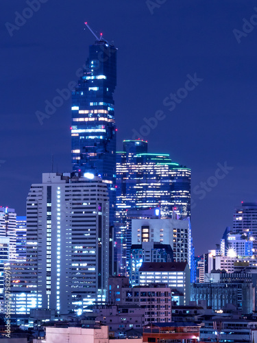 Recess Fitting Shanghai Cityscape Night light 9