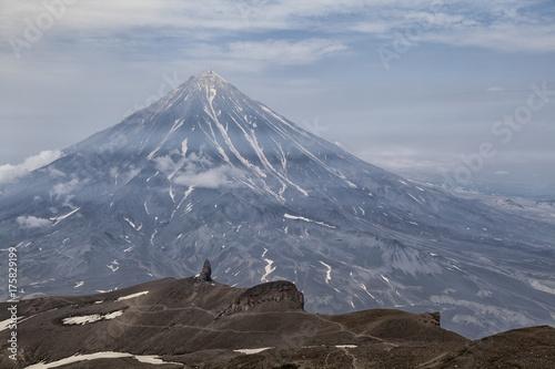 Plakat Natura Kamczatki (góry, wulkany, ocean)