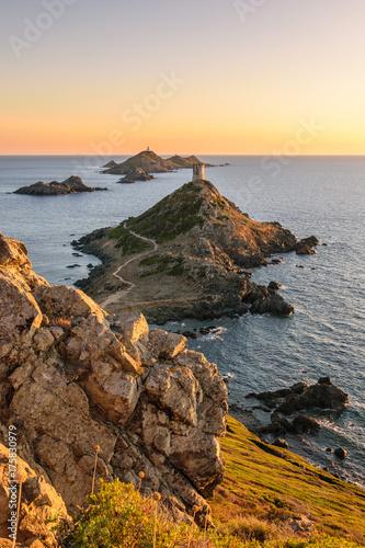 Corsica - iles de sanguinaires Canvas Print