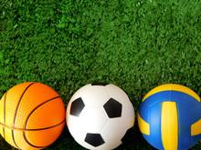 Balls For Soccer, Basketball A...