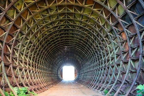 Plakat Tunel i światło na końcu