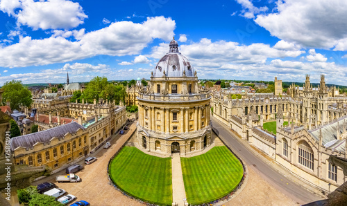 Foto op Canvas Oude gebouw The Bodleian Library , University of Oxford,England,UK