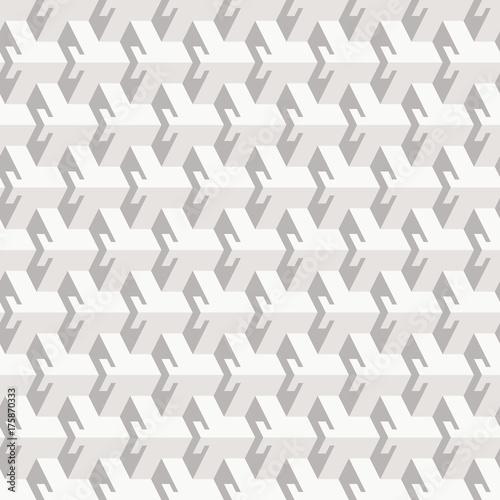 Zdjęcie XXL Streszczenie wzór w stylu izometryczny. Elementy trójwymiarowe.