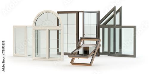 Fotografie, Obraz  Windows colection
