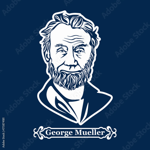 George Mueller Canvas Print