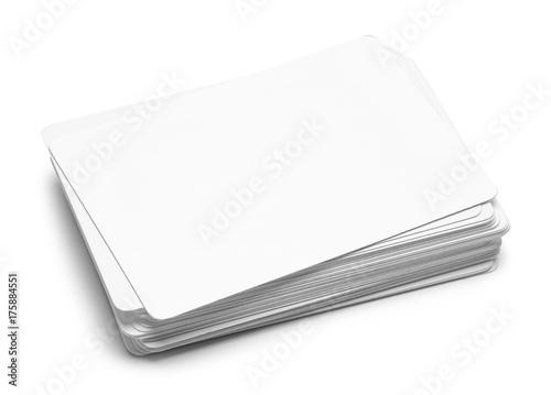 фотография  Blank Deck of Cards