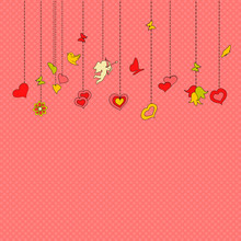Little Hanging Hearts And Othe...