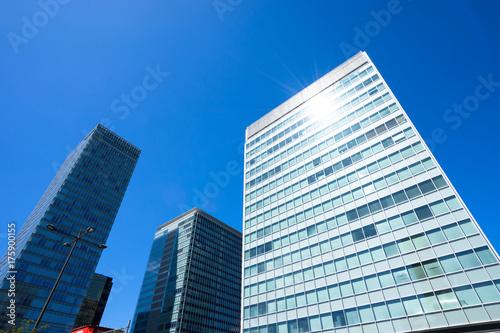 Zdjęcie XXL Sceneria obszaru biurowego Tokio · Akihabara