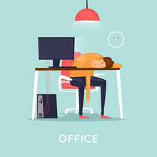 Lot Of Work, Man Fell Asleep A...