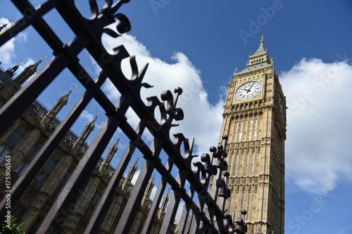 Obraz na dibondzie (fotoboard) Londyn Anglia Angielski Brexit UE UE Brytyjska Europa Londyn Funt szterling Euro Big Ben Parlament Westminster Union Jack
