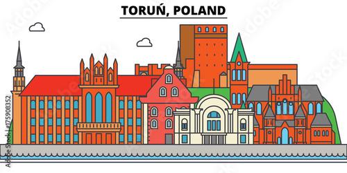 Obraz na płótnie Poland, Torun