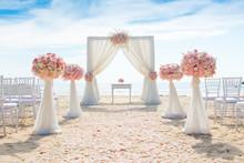 Romantic Wedding Ceremony On T...