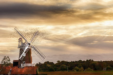 Cley Windmill Located On The N...