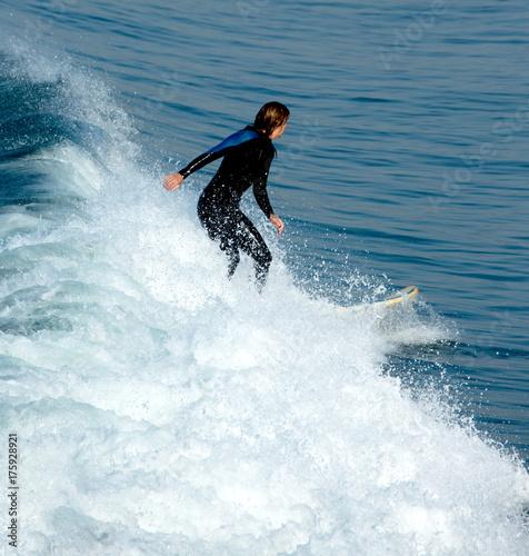 Plakat Surferzy w Kalifornii