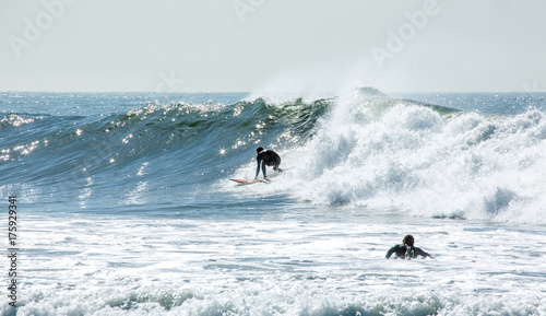 Surfers in California