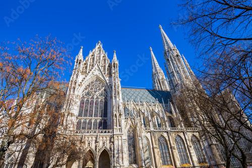 Zdjęcie XXL Kościół Votivkirche w Wiedniu w Austrii