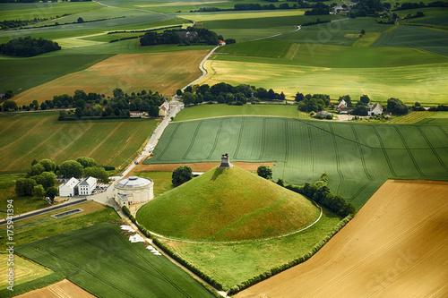 Photo la Wallonie vue du ciel, Wallonia from the sky