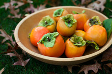 Wooden Bowl Filled With Organi...