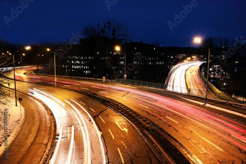 Plakat Leuchtspurren w Monachium