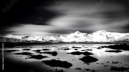 Fotografie, Obraz  Minuten der Stille in Norwegen