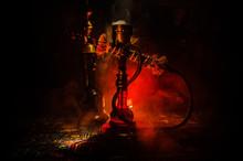 Hookah Hot Coals On Shisha Bow...