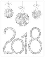 Zen 2018 And Christmas Balls