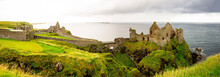 Dunluce Castle In Northern Ire...