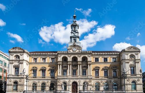 Zdjęcie XXL Hiszpania - Kraj Basków - Bilbao - Ayuntamiento (Ratusz)