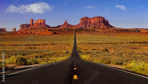 Fotografia  Monument Valley road