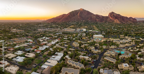 Photo sur Aluminium Arizona Arizona valley and resorts