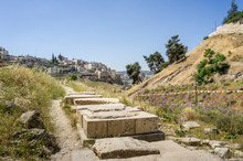 The Kidron Valley And The Vill...
