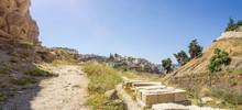 The Kidron Valley In Jerusalem...