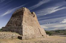 La Quemada Pyramid Outside Zacatecas, Mexico