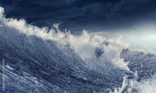 Fototapety, obrazy: Ice floe on waves