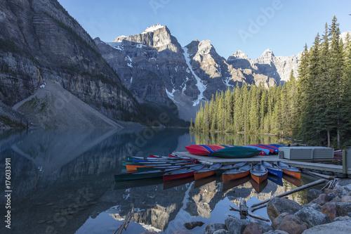 Fotobehang Canada outdoor, mountains