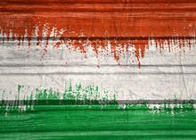 Hungary Flag Design Concept. F...