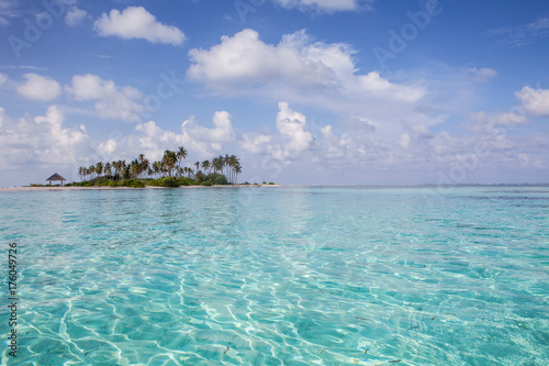 Paradise Island , Maldives