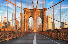 Brooklyn Bridge, New York City...