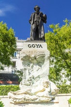 The Statue Of The Spanish Famo...