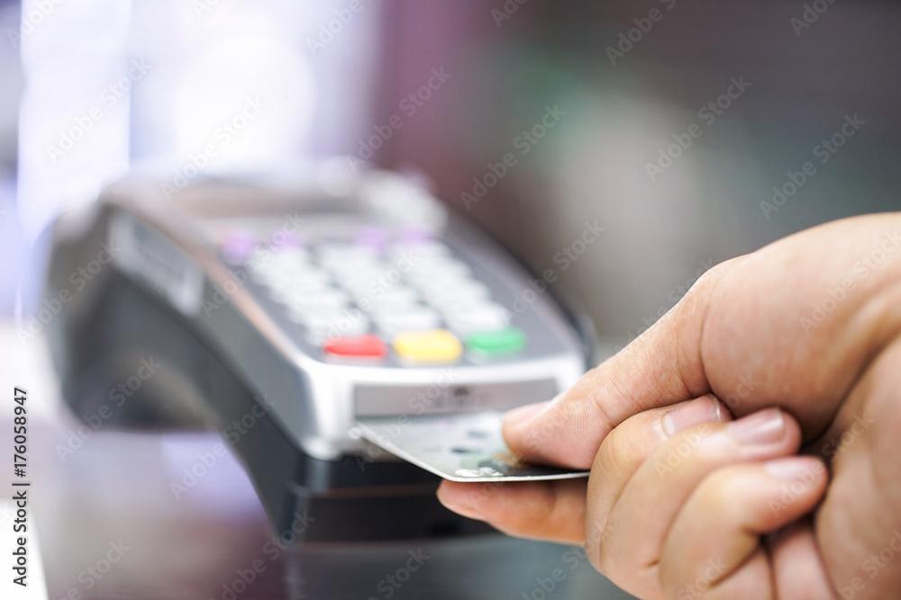 Fototapeta credit card