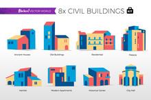 Case Popolari E Edifici Del Centro Storico