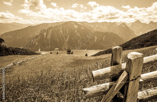 Wall Murals Northern Europe achensee lake in austria