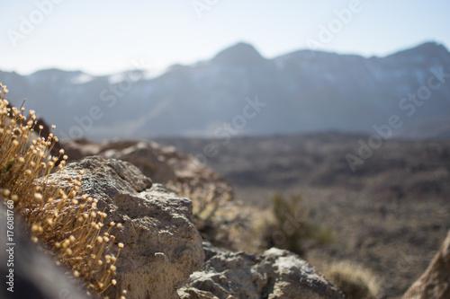 Zdjęcie XXL krajobraz księżyca w górach