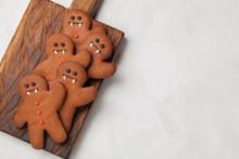 Homemade Ginger Biscuits In Th...