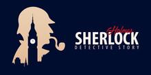 Sherlock Holmes Banners. Detec...