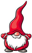 Niedlicher Weihnachtswichtel -...