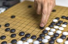 Playing Go Or Igo, Chinese Boa...