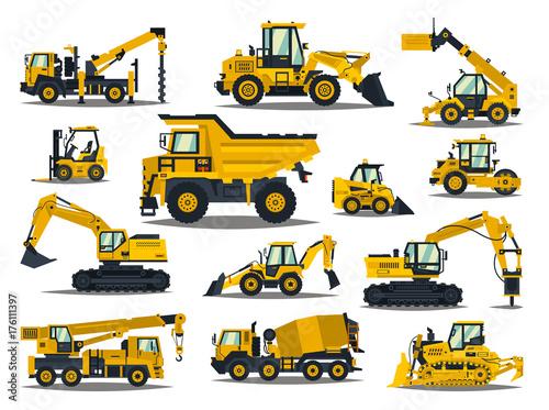 Fotografía  Big set of construction equipment