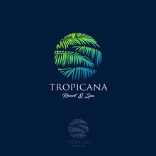 Tropicana Logo. Resort And Spa...