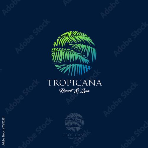 Tropicana logo Canvas Print
